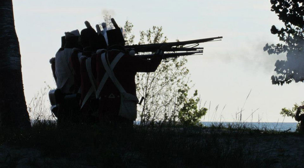 British Silhouetted at Dusk, Wasaga Under Siege 2012