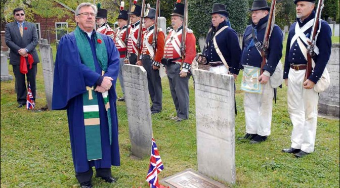 York Militia Honoured at Richmond Hill, Ontario
